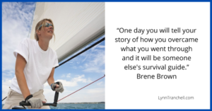 help others by telling your story quote by Brene Brown