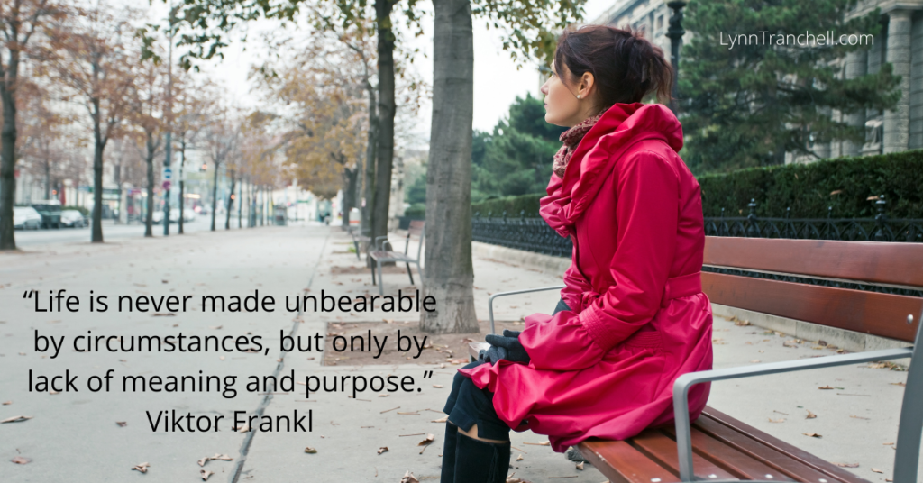 Viktor Frankl quote about purpose