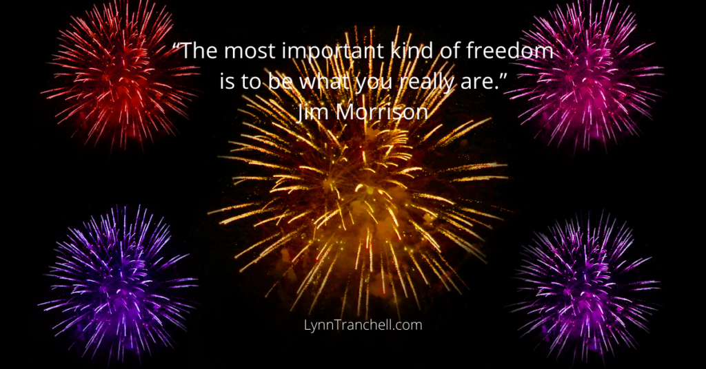 quote by Jim Morrison - The most important kind of freedom is to be what you really are.