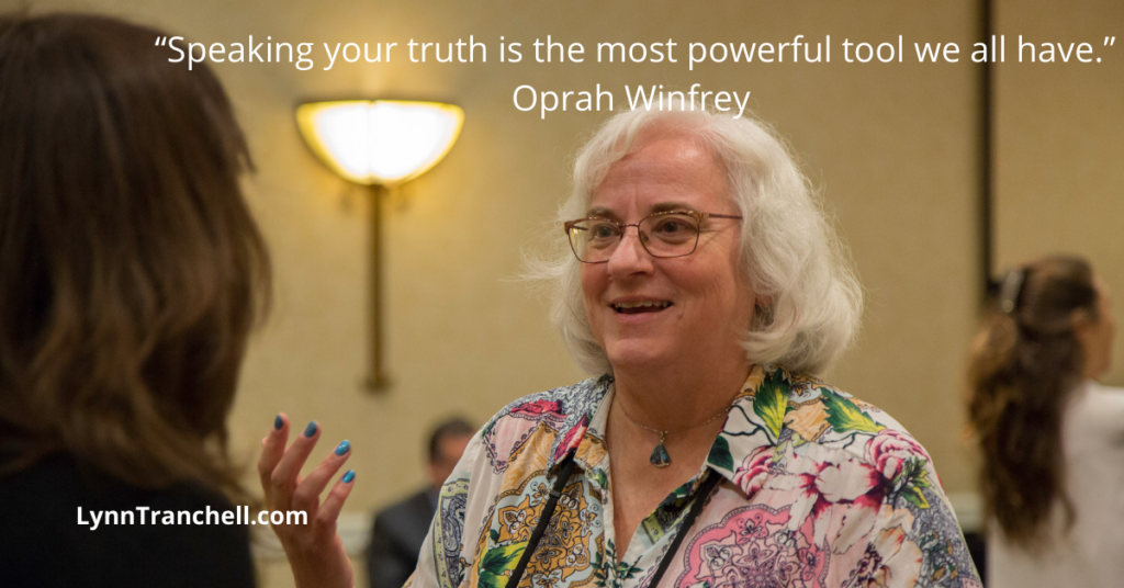 """quote by Oprah Winfrey Speaking your truth is the most powerful tool we all have."""""""