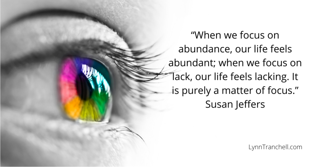 Focus quote by Susan Jeffers
